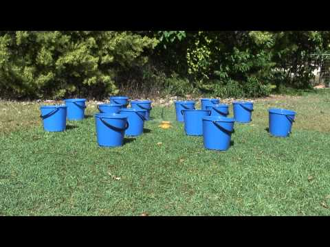 Sprinkler with Buckets