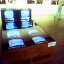 The TV Bed in the AGNSW (video still from photograph: Stephen Jones)