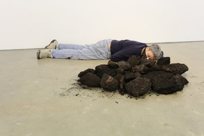 Out-of-Sync, Portraits with Coal, CoalFace, Library Artspace, Melbourne, 2013