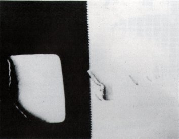 Catalogue image, from Video/Culture catalogue, for Robert O'Hearn: Vacuum and its Effect on your Breath (1984)