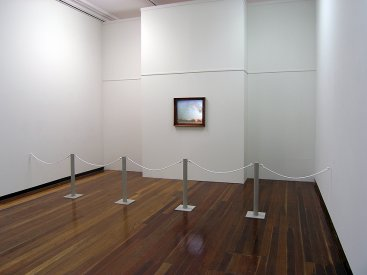 Alex Gawronski, Civilized (version 2), 2007. Installation view, Fauvette Loureiro Travelling Scholarship Award exhibition, Sydney College of the Arts galleries.