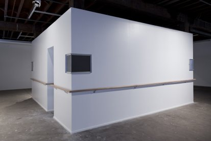 Alex Gawronski, The Invisible Man, 2012, installation view, Artspace, Sydney. Photo: silversalt photography.