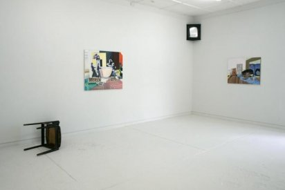 Other People's Pictures 2010  installation view Uplands, Melbourne