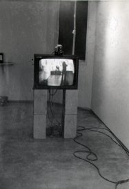 Open Processes: Video Line, installation by Stephen Jones. [photo: Sandy Edwards]