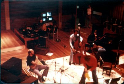 During the set up for Regions. clockwise from left Gregg Howard, Stephen Jones, Colin Brumby, Philip Bracanin, Elaine Dobson and Howard Davidson.