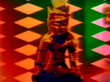 Frame from TV Buddha (Homage to Nam June Paik)