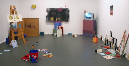 Matthew Tumbers, Gumnut Xanadu IV: We Could Be Heroes in Publicity, installation view, Contemporary Art Centre of South Australia, Adelaide, 2007